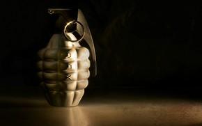 Картинка оружие, фон, граната