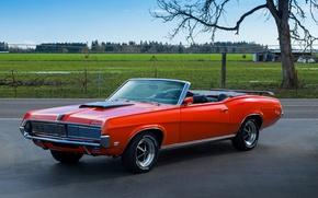Картинка 1969, классика, Mercury, Cougar Convertible