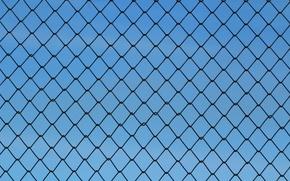 Картинка сетка, забор, текстура, рабица