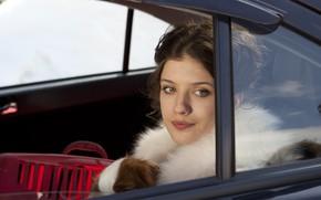 Картинка взгляд, в машине, Лена, Анна Чиповская, Ёлки 3, Anna Chipovskaya