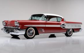 Обои luxury, 1958, Bonneville, Pontiac, vintage