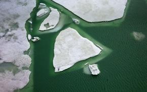 Картинка лед, зима, озеро, Швейцария, Гримсел