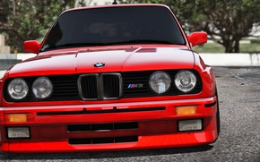 Картинка красный, BMW, передок, Turn 10 Studios, Forza 7