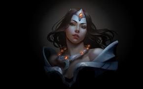 Картинка девушка, арт, Mirana, фЭнтези, Ina Wong