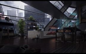 Картинка уют, сетка, интерьер, помещение, THE LOFT
