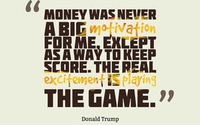 Картинка game, money, Quotes, Donald Trump