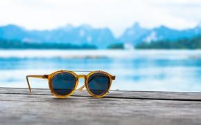 Обои море, пляж, лето, отдых, очки, summer, beach, sea, vacation, sunglasses