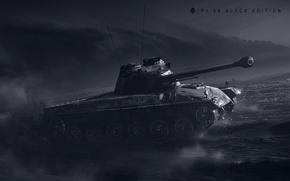 Обои Wargaming Net, Мир Танков, Panzer 58 Mutz, WoT, Pz.58 Black Edition, World of Tanks