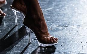 Картинка heels, female, legs, feet