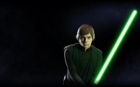 Обои Star Wars, Звездные войны, Electronic Arts, Luke Skywalker, DICE, EA DICE, Star Wars: Battlefront II, ...