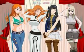 Картинка девушки, аниме, арт, разные, косплей