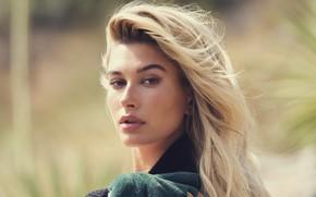 Картинка модель, портрет, блондинка, Hailey Baldwin