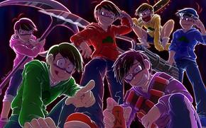 Картинка аниме, арт, парни, Osomatsu-San