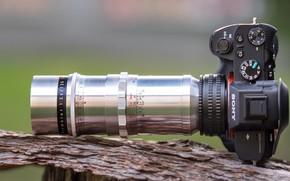 Картинка фотоаппарат, фотик, SONY, ⍺7II, (ILCE-7M2)