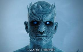 Картинка взгляд, урод, чудовище, Game Of Thrones Night King