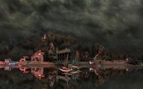 Картинка games illustration, HOPA, ticathrow headogun, panorama lazarus