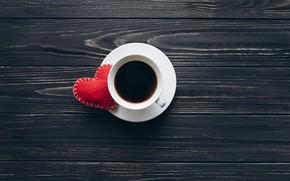 Картинка Кофе, Напиток, Сердечко