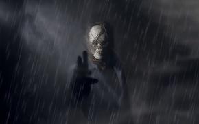 Картинка мрак, человек, маска