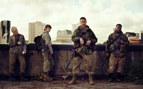 Картинка cinema, gun, weapon, survivor, movie, film, rifle, Gemma Arterton, Tavor, Paddy Considine, IMI Tavor TAR-21, ...