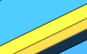 Обои линии, желтый, голубой, текстура, design, blue, color, небесный, material