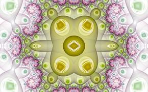 Картинка узор, вязь, симметрия