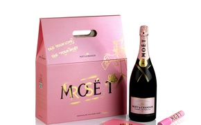 Картинка коробка, бутылка, шампанское, упаковка, Moet & Chandon