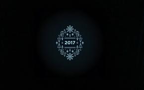 Картинка новый год, Black, 2017
