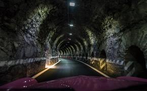 Картинка Италия, тоннель, Ломбардия, Стельвио