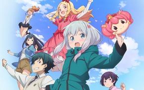 Картинка anime, brothers, friends, manga, japanese, bishojo, EroManga-Sensei, Elf Yamada, Masamune Izumi, mussune, Sagiri Izumi, Megumi …