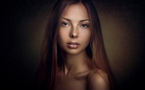 Картинка взгляд, девушка, портрет, фотограф, Konstantin Pilipchuk