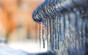 Картинка лед, зима, сосульки