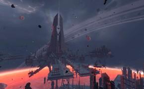 Картинка планета, Star Conflict, Monolith Remains