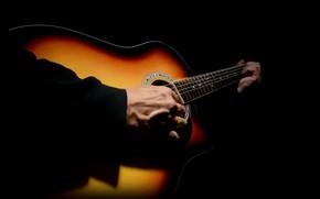 Обои руки, музыка, гитара