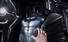 Картинка game, bat, hero, suit, DC Comics, VR, Batman Arkham VR