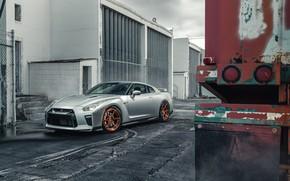 Обои дизайн, Nissan GTR, стиль