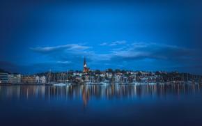 Картинка дома, яхты, Германия, порт, Germany, гавань, фьорд, Schleswig-Holstein, Шлезвиг-Гольштейн, Фленсбург, Flensburg, Фленсбургский фьорд, Flensborg Fjord