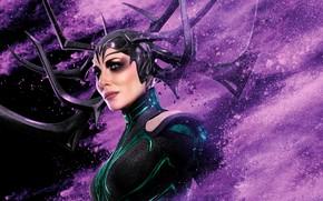 Обои постер, Тор: Рагнарёк, комикс, Hela, Thor: Ragnarok, Кейт Бланшетт, MARVEL, фантастика, Cate Blanchett