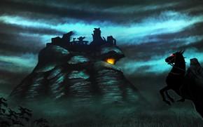 Картинка Назгул, Artwork, J.R.R. Tolkien, Амон Сул