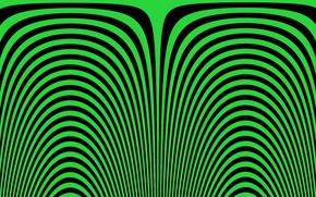 Картинка green, black, effect