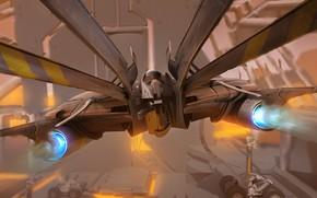Картинка летательный аппарат, white lancer, quick bashin
