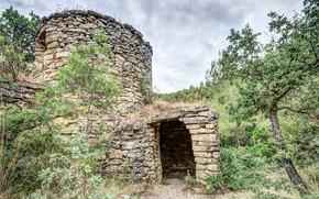 Картинка развалины, руины, Испания, Каталония