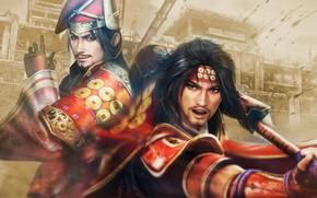 Картинка Yukimura Sanada, Samurai Warriors, Санада-мару, Spirit of Sanada, Masayuki Sanada, Масаюки, Санада, Юкимура