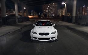 Картинка BMW, Car, Front, White, E92, Liberty, Walk
