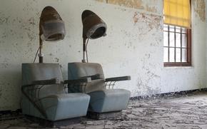 Картинка фон, кресла, парикмахерская