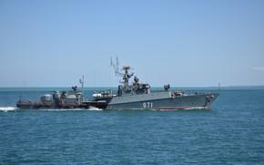 Обои малый противолодочный корабль, проект 1124м, александровец