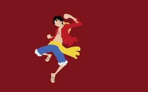 Картинка game, pirate, hat, anime, captain, asian, manga, japanese, oriental, asiatic, powerful, strong, Luffy, akuma no …