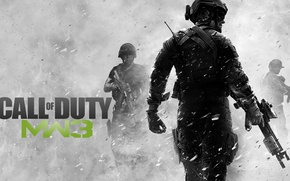 Картинка Game, Activision, Call of Duty: Modern Warfare 3
