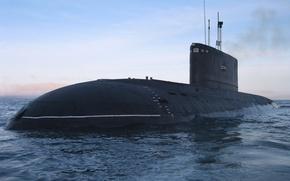 Картинка лодка, ВМФ, подводная, дизельная, Усть Большерецк, проект 877