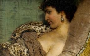 Картинка картина, история, царица, Клеопатра, Lawrence Alma-Tadema, Лоуренс Альма-Тадема