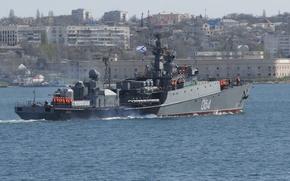 Картинка корабль, противолодочный, малый, Черное море, Муромец